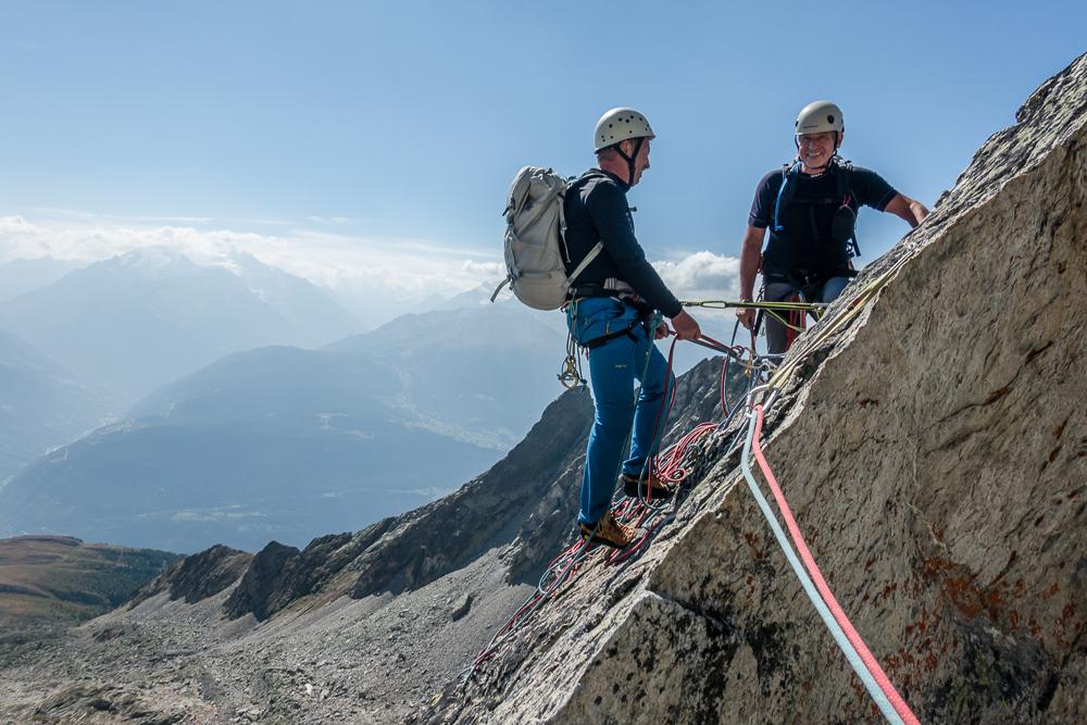 Bergsportgruppe Wiwannihütte Felsklettern