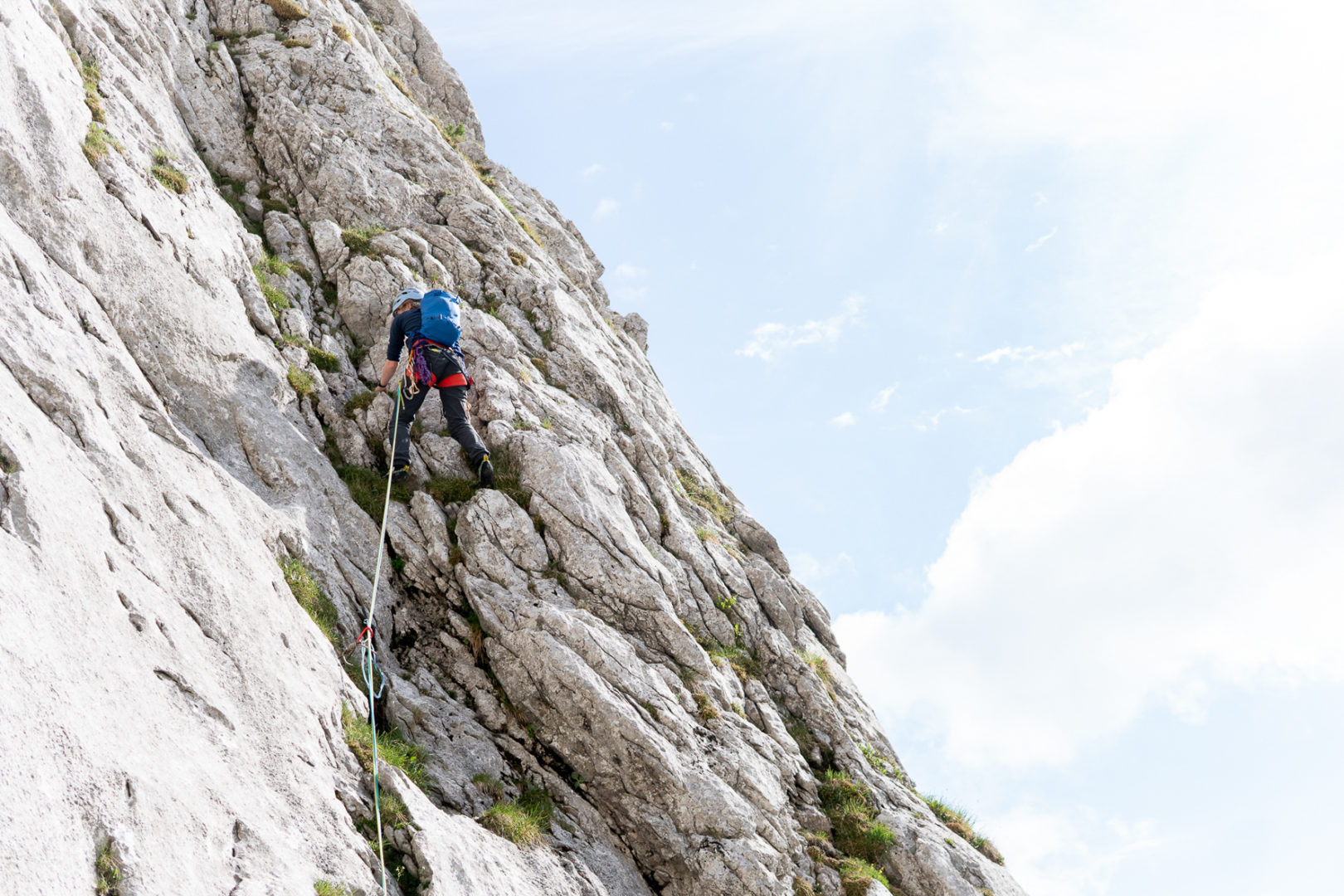 Bergsport Ausbildung Alpinklettern Blaueishütte