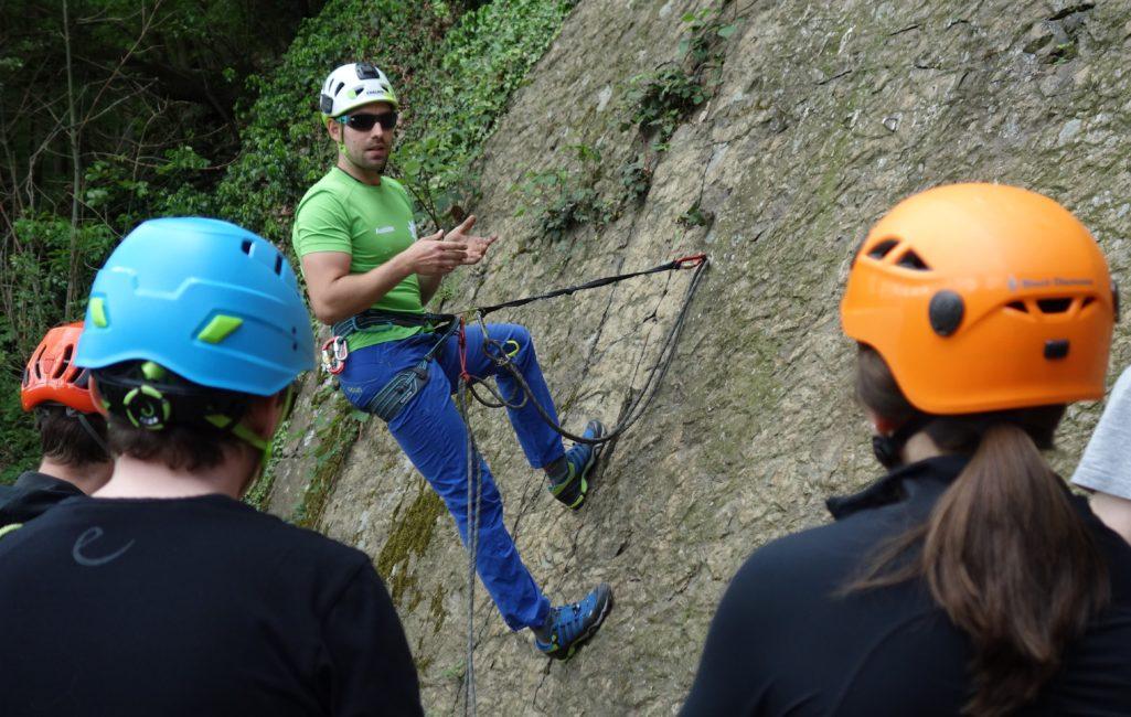 Ausbilderteam - Grundkurs Felsklettern