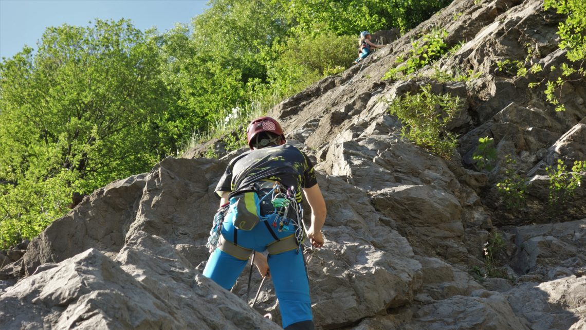 Bergsport Ausbildung Felsklettern (Foto: sst)