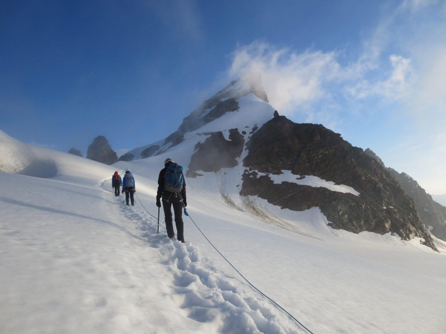 Bergsport Eisgrundkurs Ausbildung Hochtouren