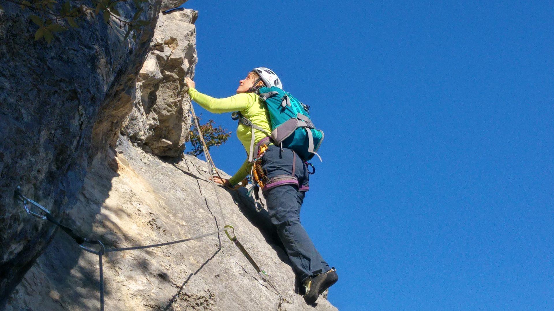 Ausbildung Bergsport Sportklettern in Arco