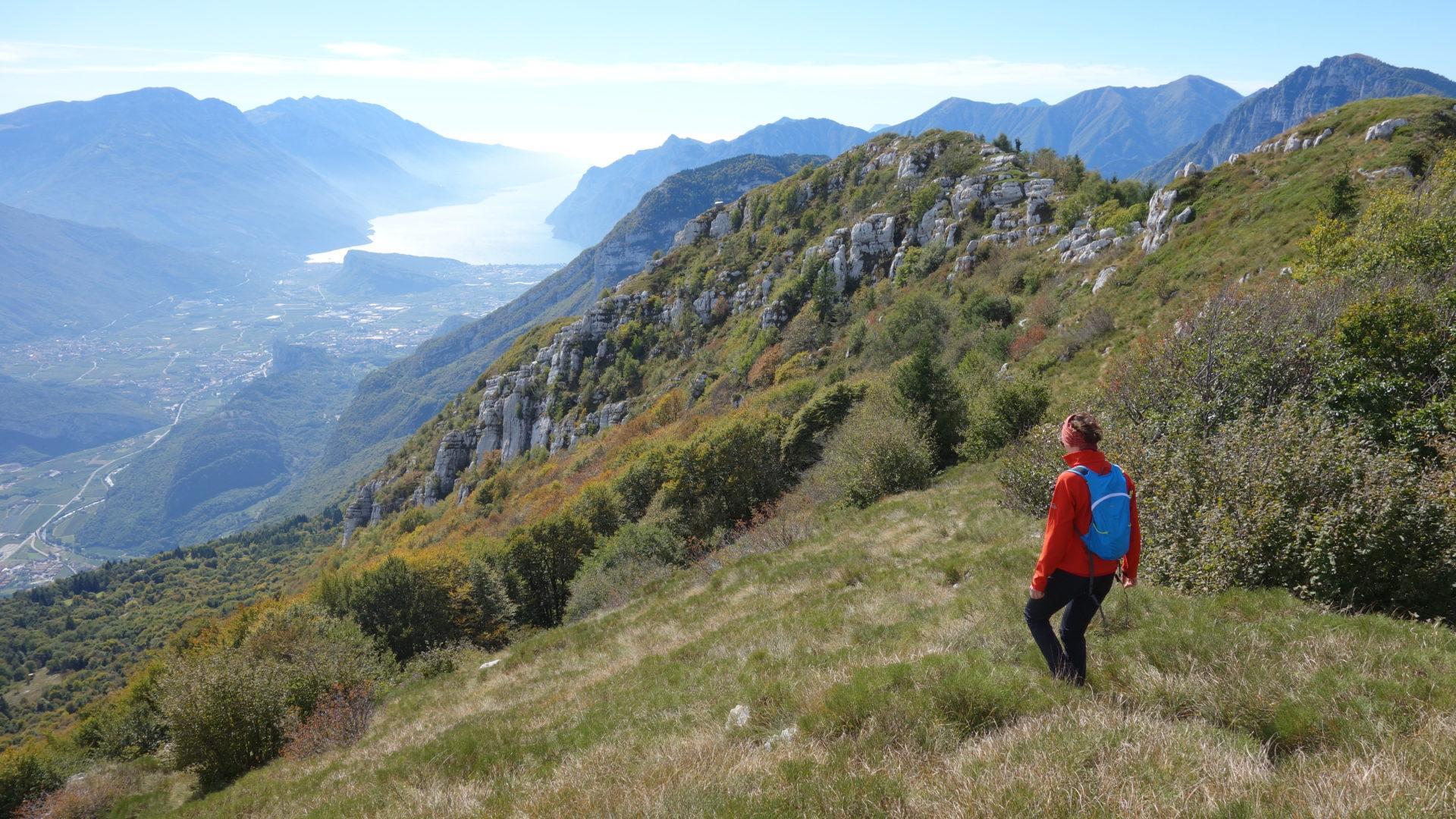 Bergsport Bergwandern Gardasee Arco