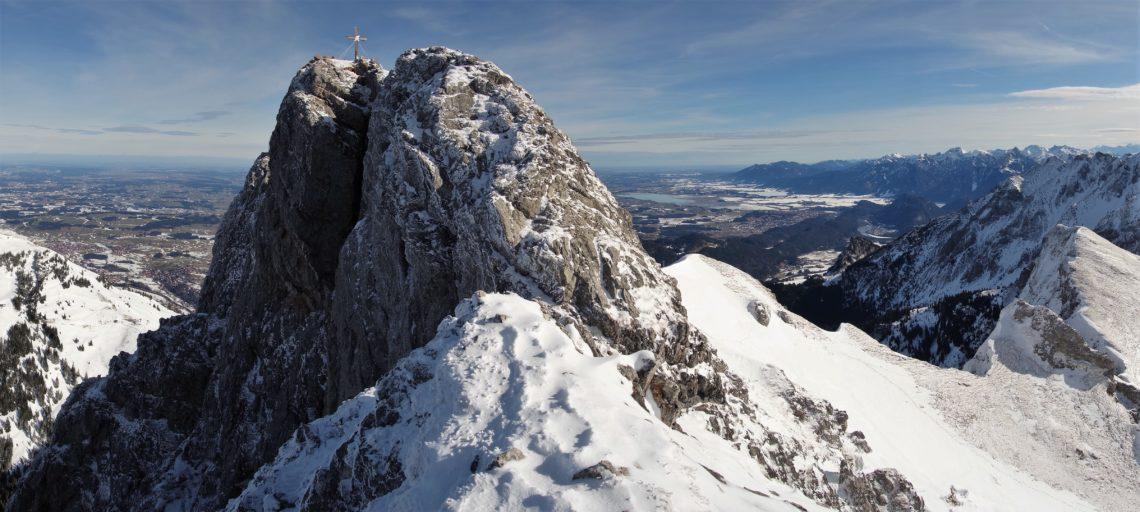 Bergsport Wintertour Hochtour Aggenstein (Foto: sst)