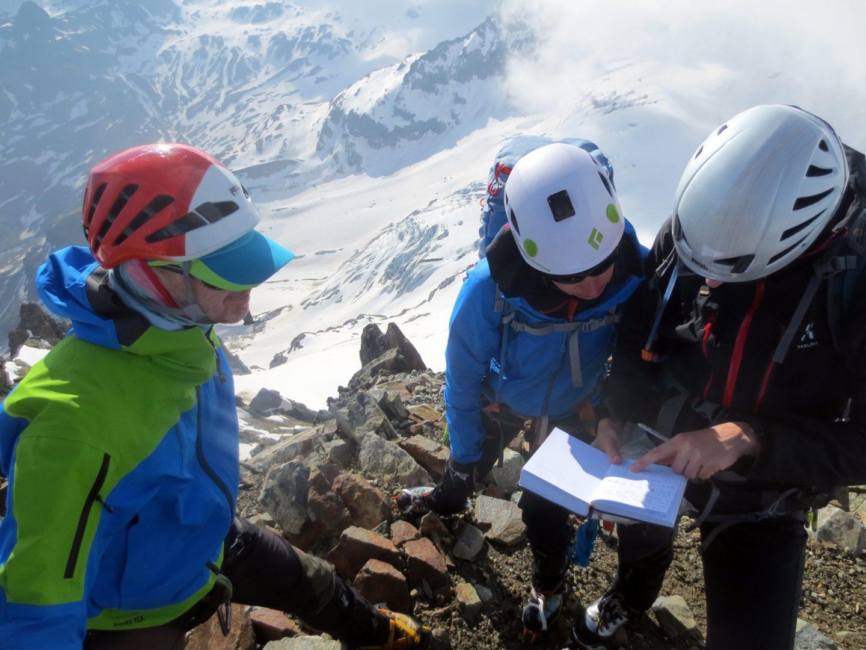 Bergsport Ausbildung Hochtouren in der Silvretta (Foto: sst)