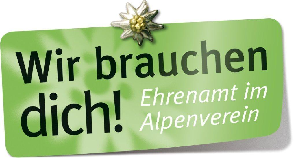 Wir brauchen dich! Ehrenamt im Alpenverein
