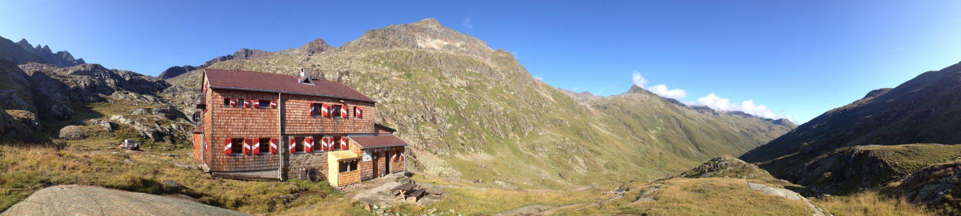 Elberfelder Hütte im Nationalpark Hohe Tauern