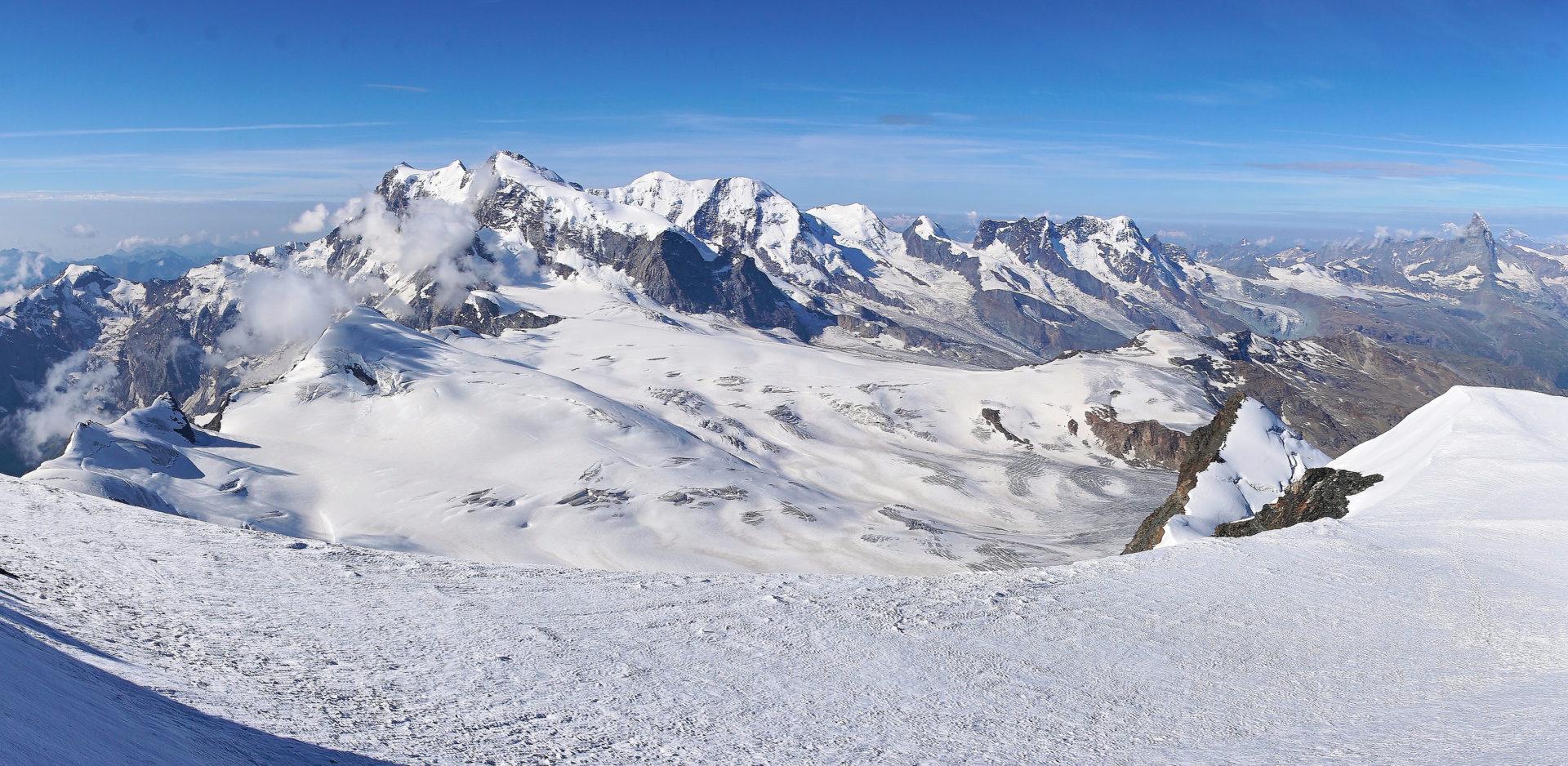 Bergsport Hochtourenkurs Wallis
