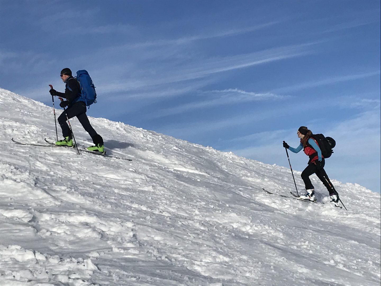 Skitourenkurs Allgäu Aufstieg