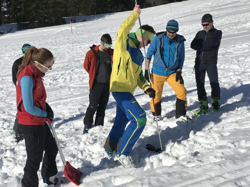 Skitourenkurs Lawinenkunde