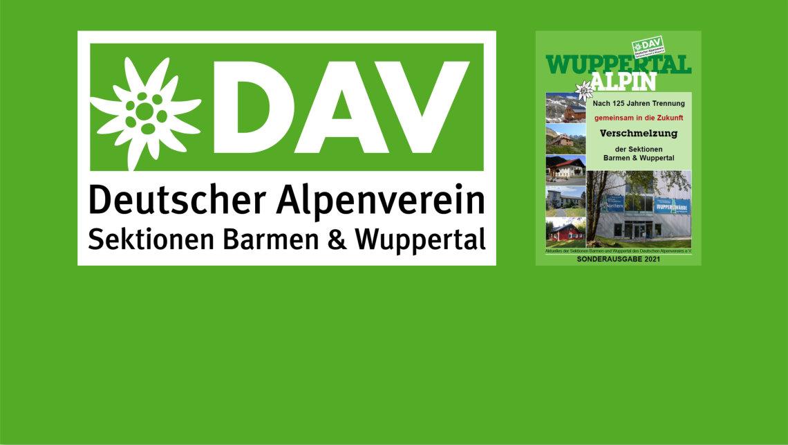 Sonderausgabe Verschmelzung der Sektionen Barmen und Wuppertal