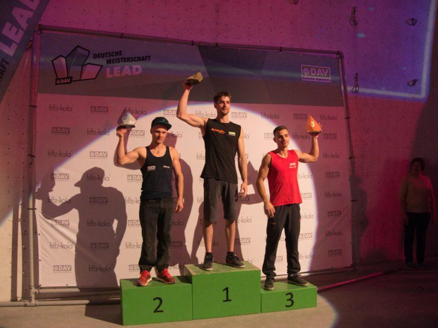 Deutsche Meisterschaft - Siegerehrung