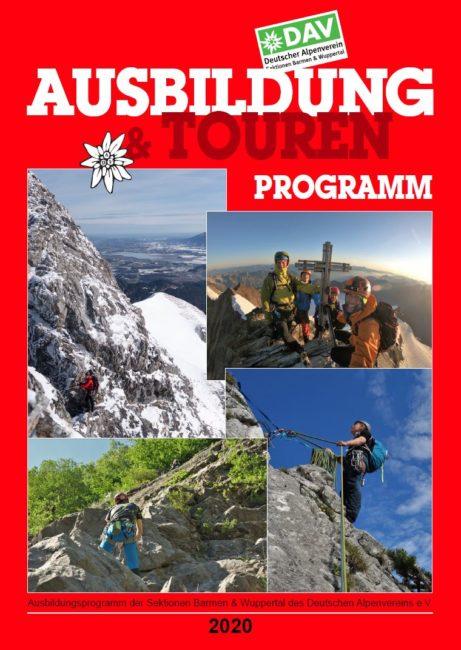 Ausbildungs- und Tourenprogramm 2020 der Sektion Barmen und Wuppertal