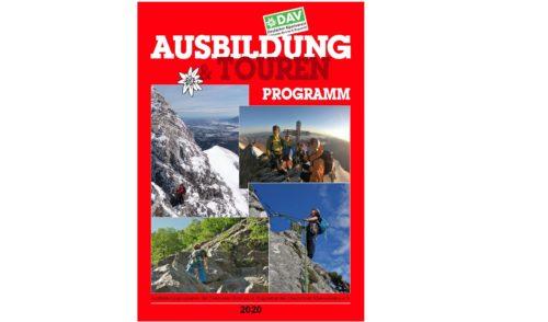 Artikelbild zu Artikel Das neue Ausbildungs- und Tourenprogramm 2020 ist erschienen
