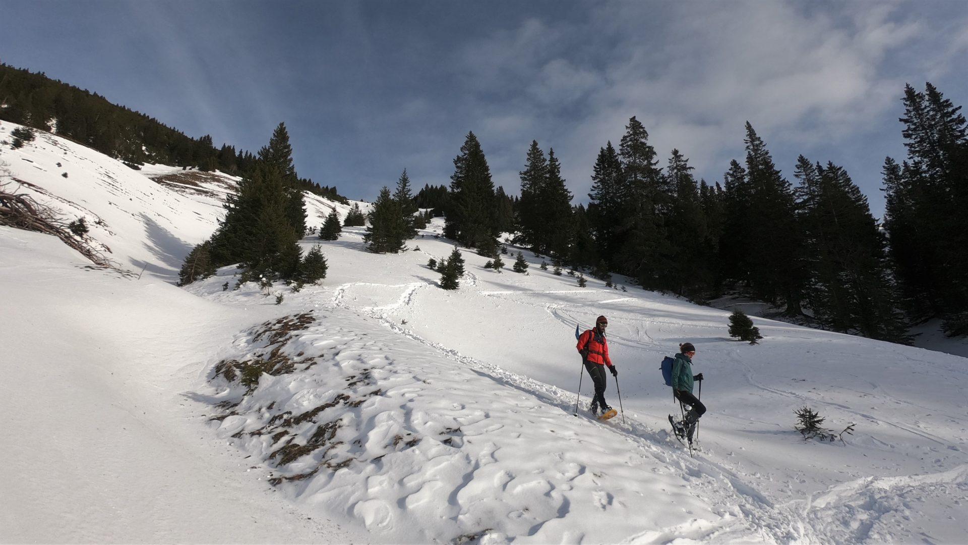Bergsport Winter Schneeschuhwandern Krinnenspitze Stefan Strunk