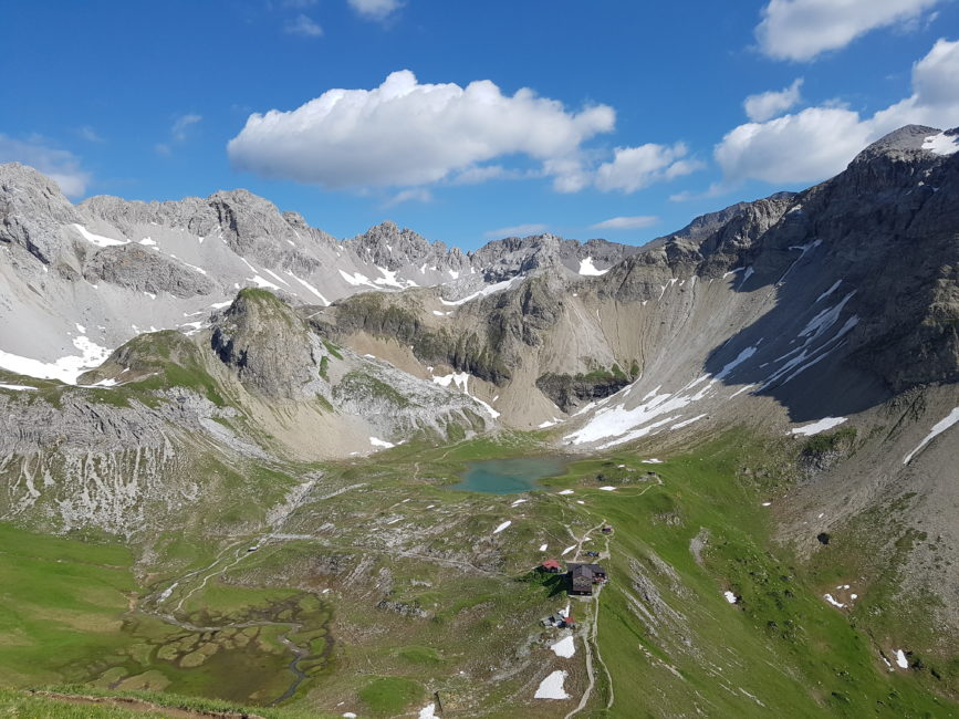 Lechtaler Höhenweg Juli 2019 - Memminger Hütte