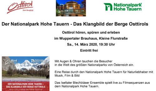 Artikelbild zu Artikel Der Nationalpark Hohe Tauern – Das Klangbild der Berge Osttirols