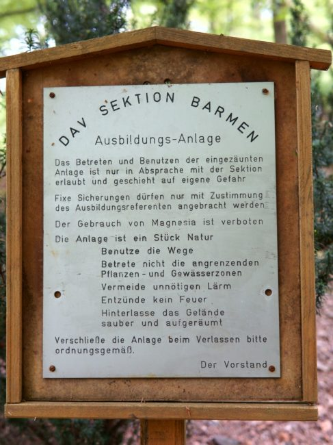 Klettern Spreeler Mühle Regeln