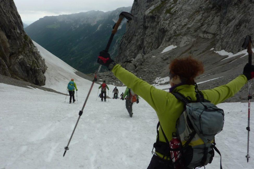 Grundkurs Bergwandern Wilder Kaiser Sapi