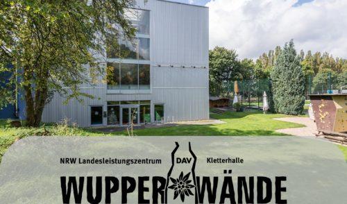 """Artikelbild zu Artikel Information des Trägervereins für das DAV Kletterzentrum """"Wupperwände"""""""