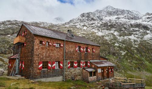 Artikelbild zu Artikel Elberfelder Hütte – letzte Nächtigungsmöglichkeit am 18.09.2020