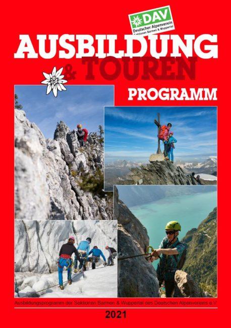 Ausbildungs- und Tourenprogramm 2021 der Sektion Wuppertal