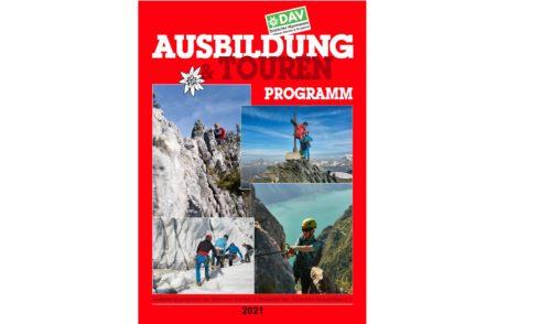 Artikelbild zu Artikel Das neue Ausbildungs- und Tourenprogramm 2021 ist erschienen