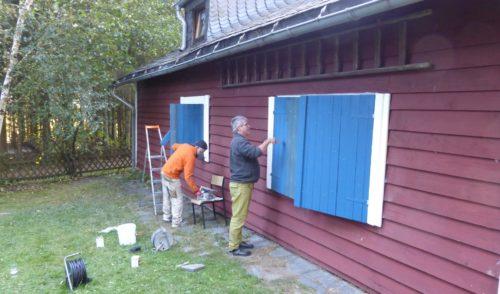 Artikelbild zu Artikel Die Sauerlandhütte wurde wieder fit gemacht