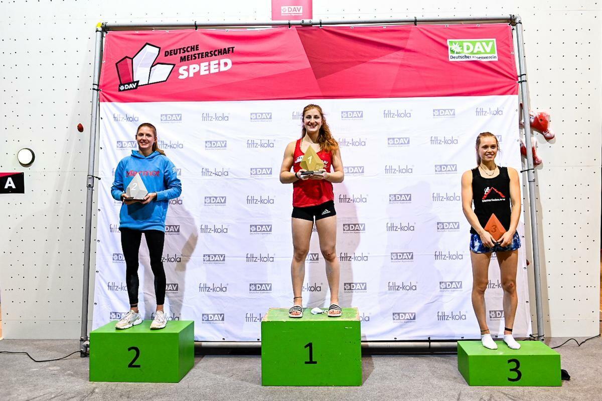 Deutsche Meisterschaft Speed - Franziska Ritter holt sich Gold