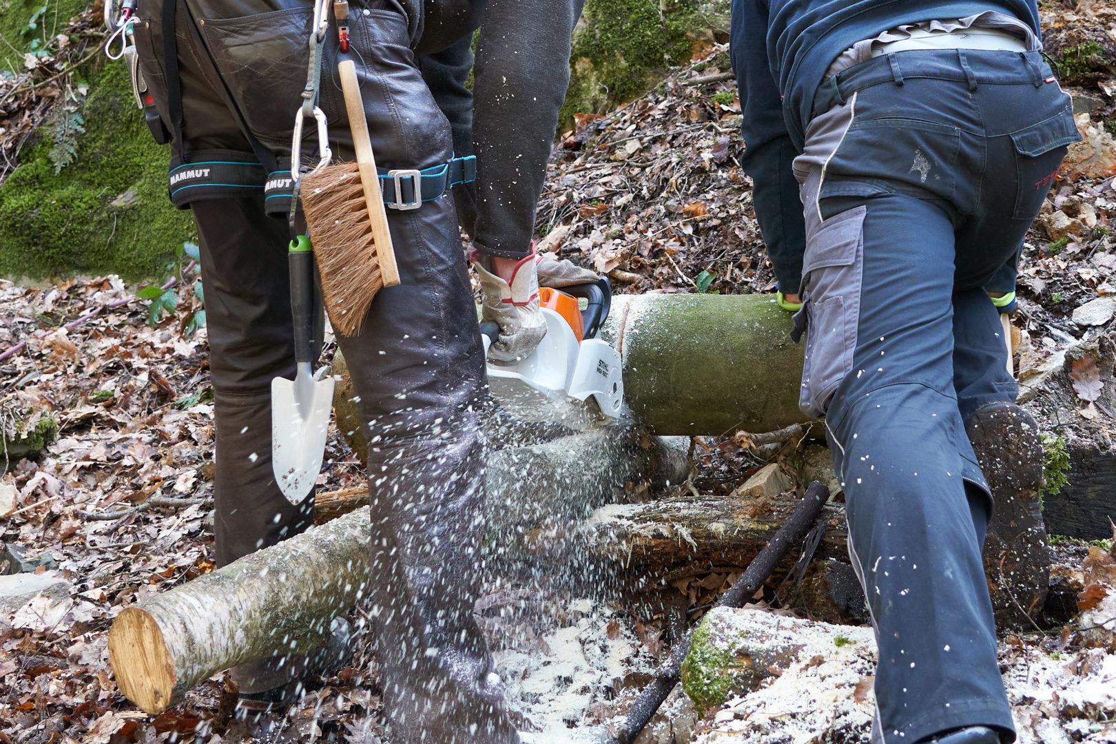 Spreeler Mühle Baumarbeiten