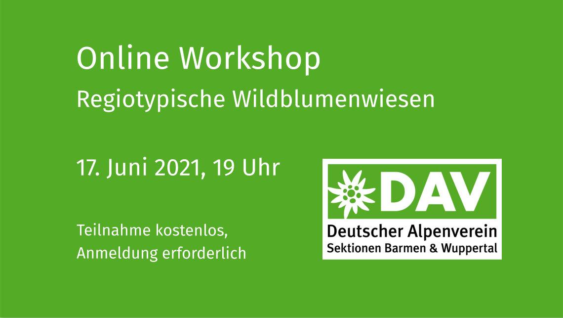 Online Workshop Wildblumenwiese