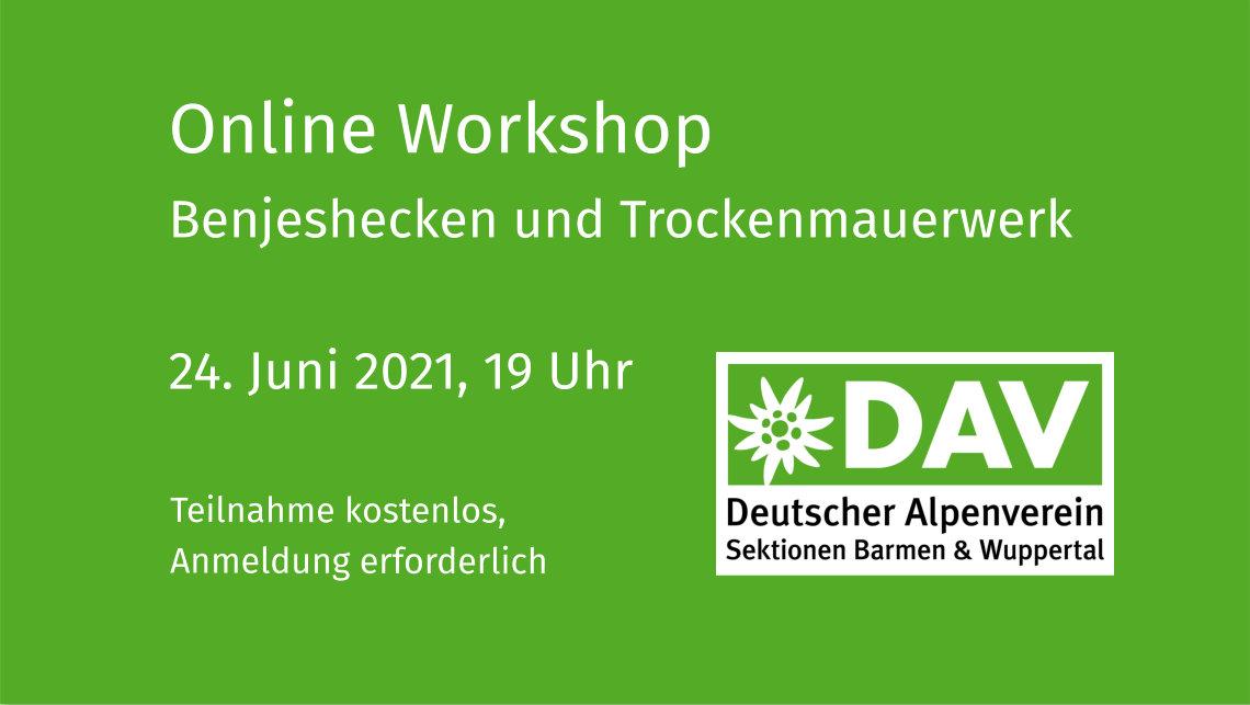 Online Workshop Trockenmauerwerk