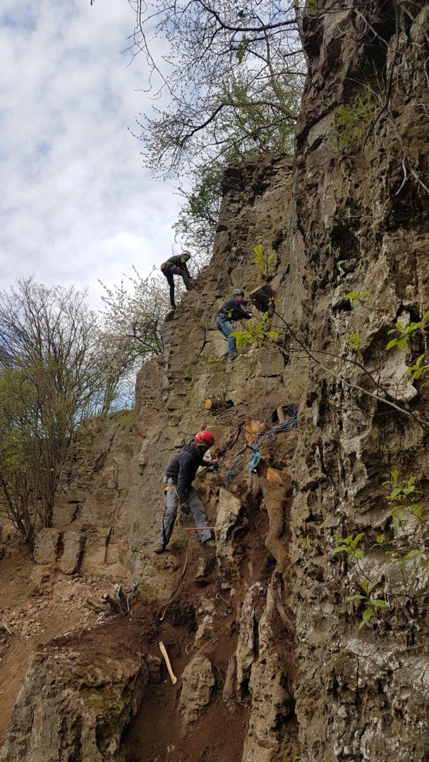 Klettergarten Felsenarena - Höfen