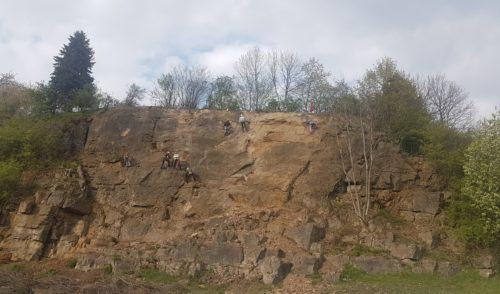 Artikelbild zu Artikel Die Felsen-Arena wächst zu einem Klettergarten