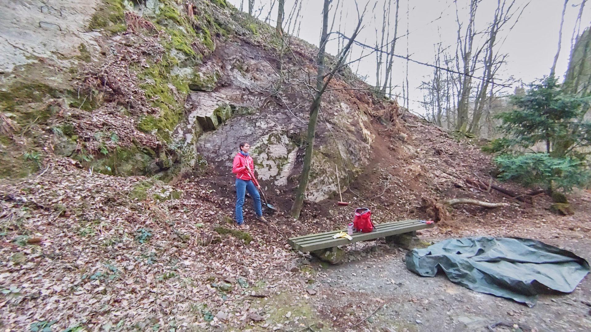 Spreeler Mühle Felsberäumung 2021