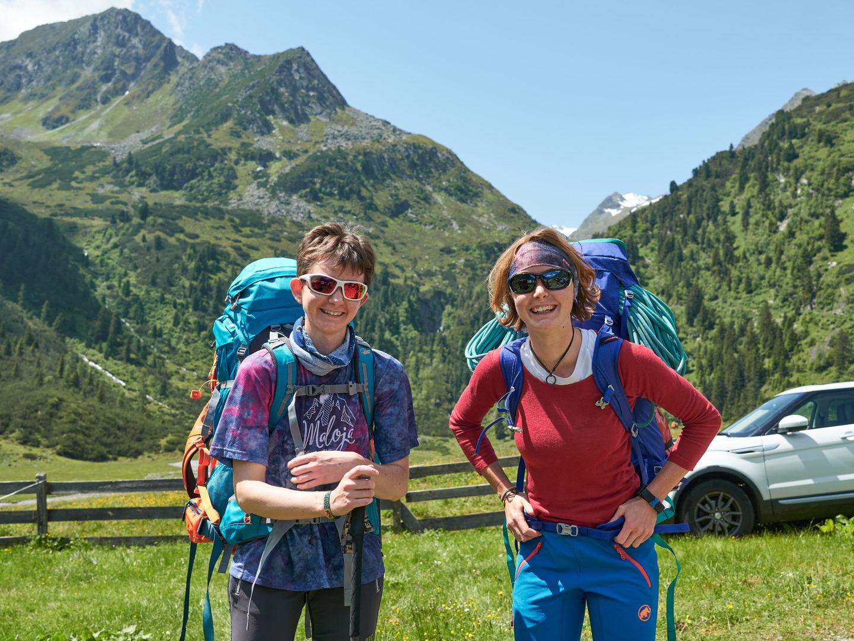 Wanderleiterinnen Wiebke und Lena Zarembowicz