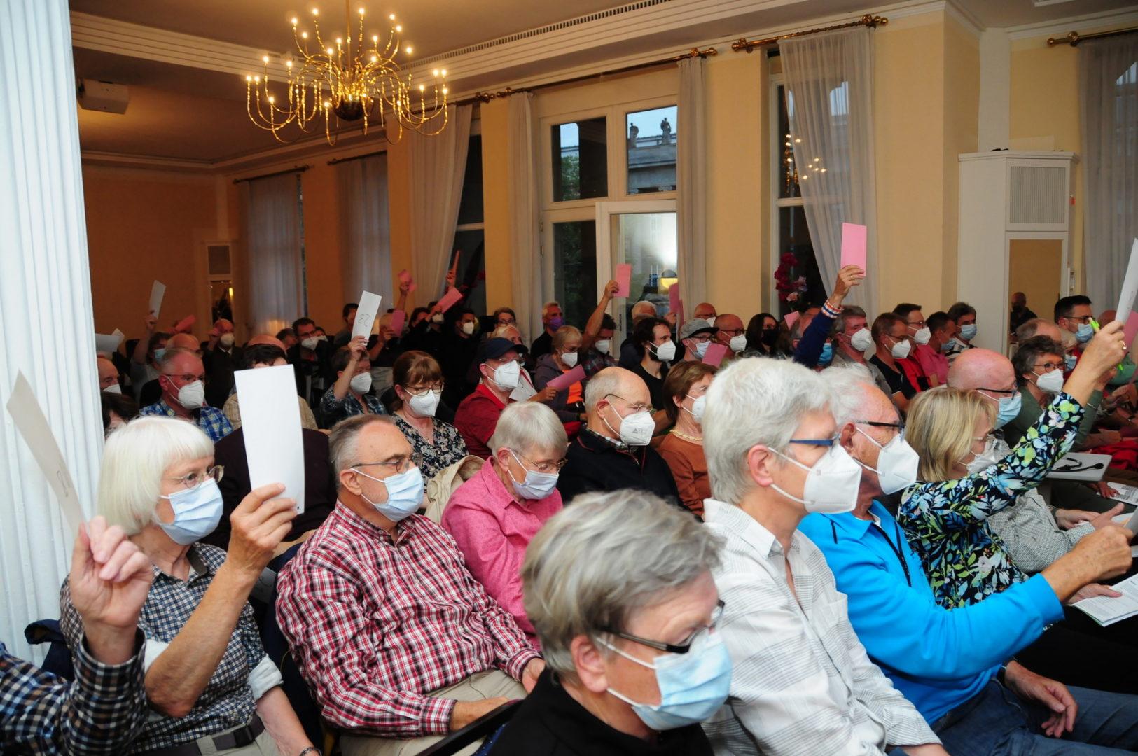 Verschmelzungsversammlung August 2021