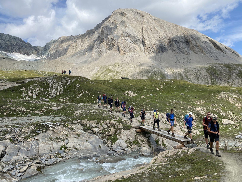 Einmal eben über die Alpen
