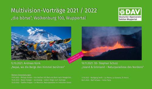 Artikelbild zu Artikel Multivision-Vorträge 2021 / 2022